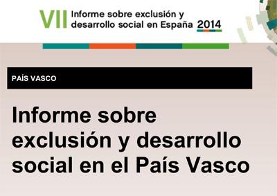EXCLUSION Y DESARROLLO SOCIAL EN EUSKADI