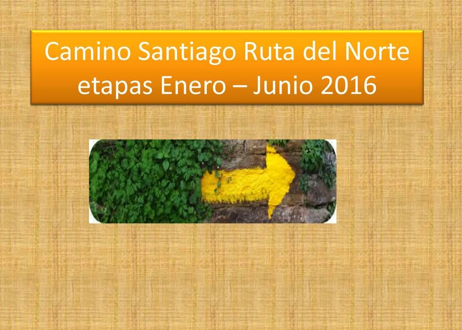CAMINO SANTIAGO (resumen total)