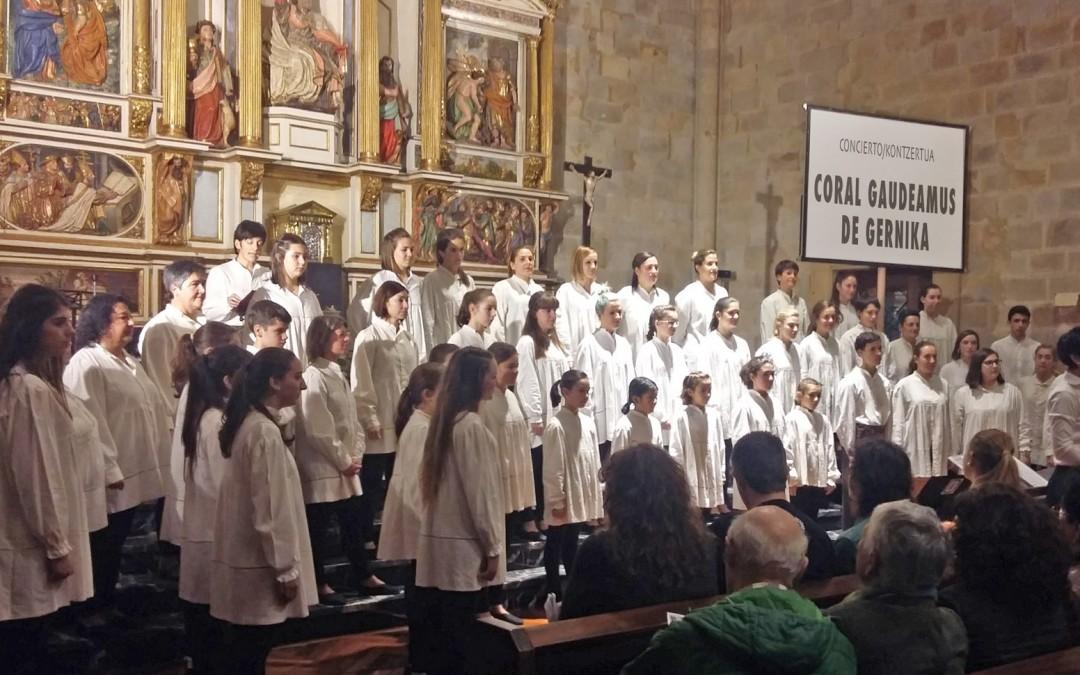 Concierto de Navidad CORAL GAUDEAMUS, de Gernika
