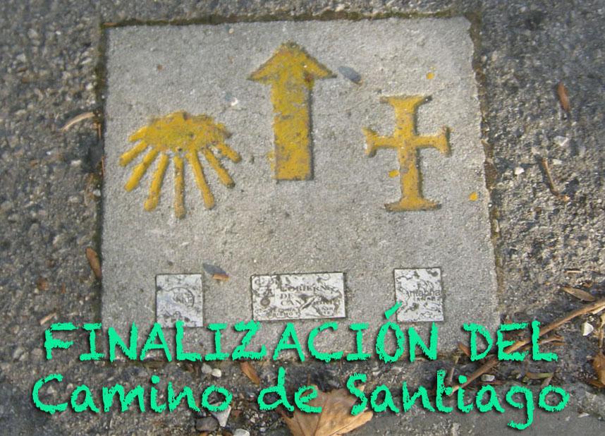 FINALIZACIÓN CAMINO SANTIAGO