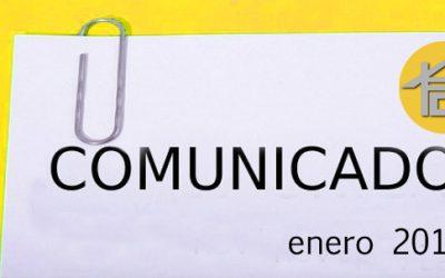 COMUNICADO ENERO 2017