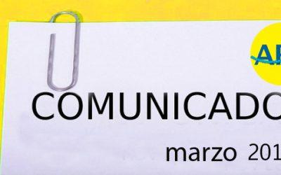 COMUNICADO MARZO 2017