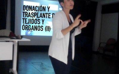 CHARLA/HITZALDIA: DONACIÓN Y TRASPLANTE DE TEJIDOS Y ÓRGANOS (II)