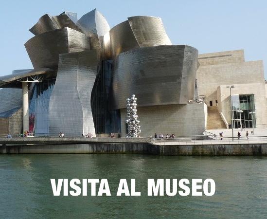 VISITA AL MUSEO  GUGGEENHGEIM