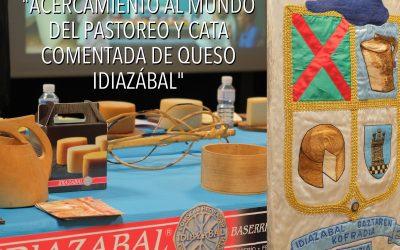 """CHARLA/HITZALDIA """"ACERCAMIENTO AL MUNDO DEL PASTOREO Y CATA COMENTADA DE QUESO IDIAZÁBAL"""""""
